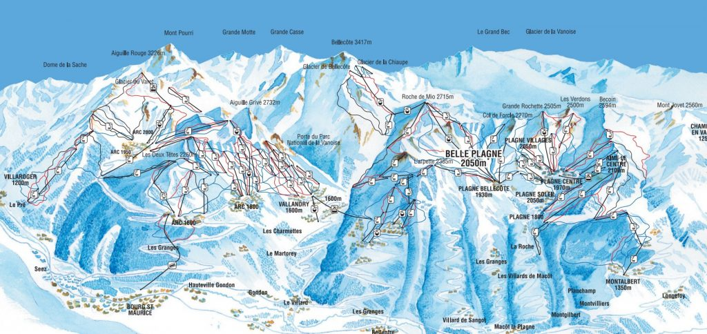 French Alps Ski Resorts